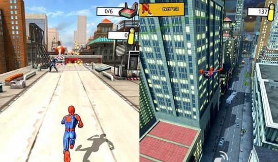 3d极限跑酷电脑版_《蜘蛛侠:极限》是国外知名游戏厂商gameloft 精心研发的一款跑酷类的