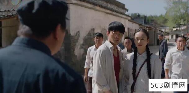 大江大河第1集剧照:宋运萍与雷干部发生争执